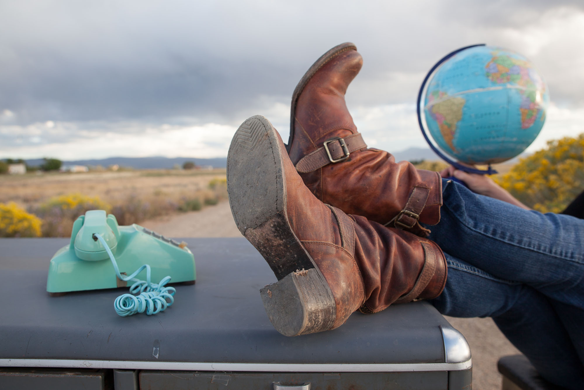 Good News Good Planet Radio Boots